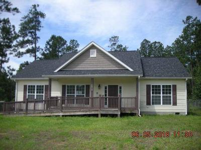 Columbia County, Richmond County Single Family Home For Sale: 4181 Bath Edie Road