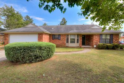 Hephzibah Single Family Home For Sale: 2718 Crosshaven Drive