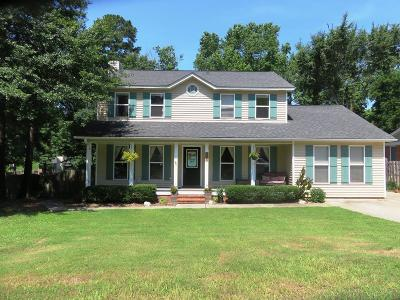 Evans Single Family Home For Sale: 538 Hunterdale Road