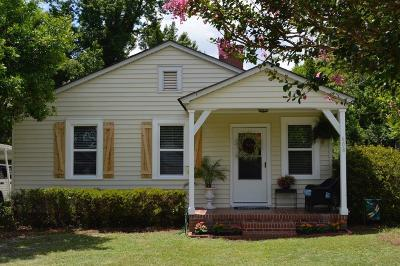 North Augusta Single Family Home For Sale: 608 Edgewood