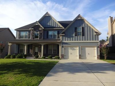 Grovetown Single Family Home For Sale: 1402 High Woods Pass