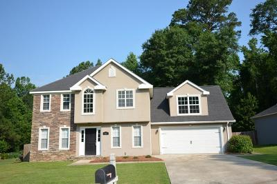 Evans Single Family Home For Sale: 4867 Sandstone Court