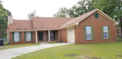 Hephzibah Single Family Home For Sale: 3821 Woodlake Drive
