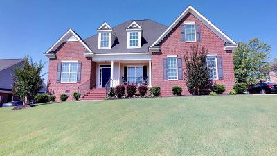 Evans Single Family Home For Sale: 1305 Woody Hill Court