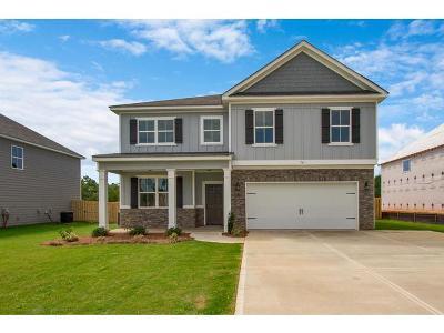 Evans Single Family Home For Sale: 747 Houston Lake Drive