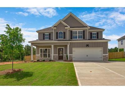Evans Single Family Home For Sale: 749 Houston Lake Drive