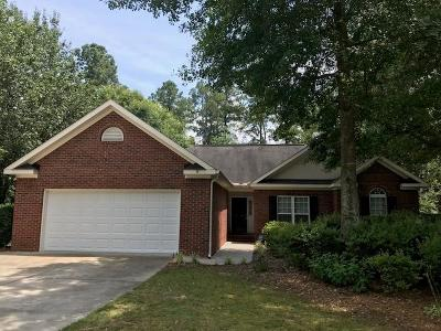 North Augusta Single Family Home For Sale: 254 Walnut Lane