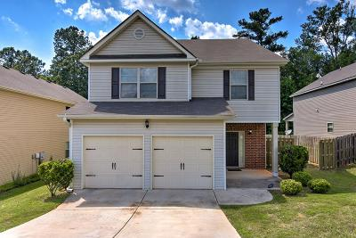 Grovetown Single Family Home For Sale: 486 Lory Lane