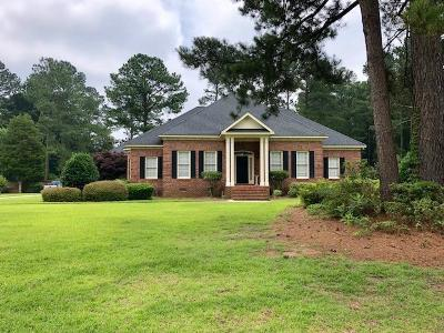 North Augusta Single Family Home For Sale: 1155 Thornwood Drive