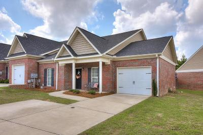 Grovetown Single Family Home For Sale: 382 Bowen Falls Road