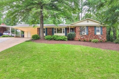 Augusta Single Family Home For Sale: 1225 Wood Valley Road
