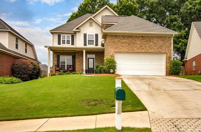Evans Single Family Home For Sale: 618 Cornerstone Place