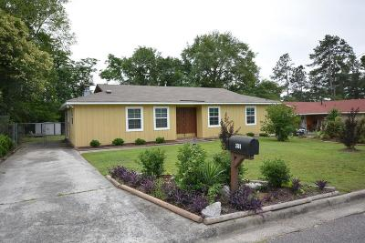 Augusta Single Family Home For Sale: 3606 Cameron Drive