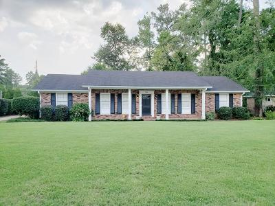 Augusta Single Family Home For Sale: 2704 Springwood Drive