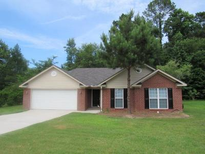 Grovetown Single Family Home For Sale: 206 Brookstone Circle