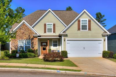 Grovetown GA Single Family Home For Sale: $274,900