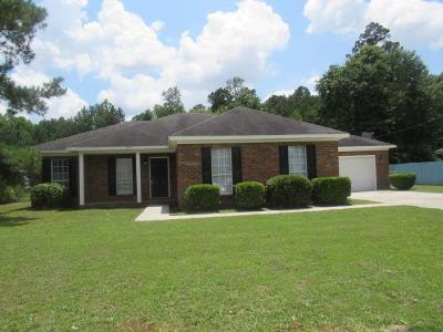 Hephzibah Single Family Home For Sale: 2787 Davis Mill Road