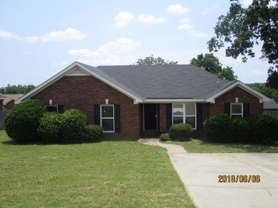 Hephzibah GA Single Family Home For Sale: $58,000