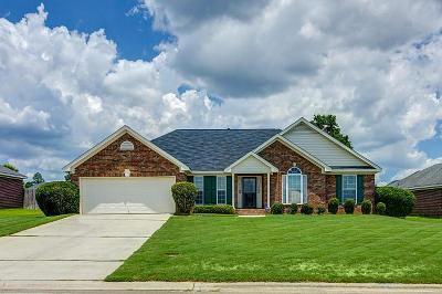 Hephzibah GA Single Family Home For Sale: $169,900