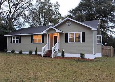 Williston SC Single Family Home For Sale: $75,000