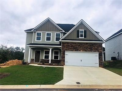 Evans Single Family Home For Sale: 283 Palisade Ridge