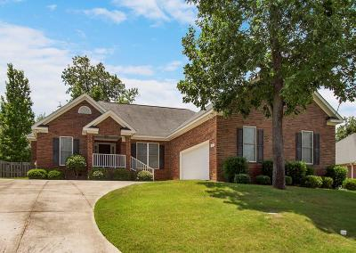 North Augusta Single Family Home For Sale: 5035 Fieldcrest Drive