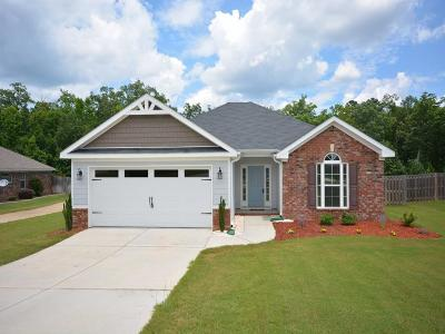 Grovetown Single Family Home For Sale: 1638 Cedar Hill Drive