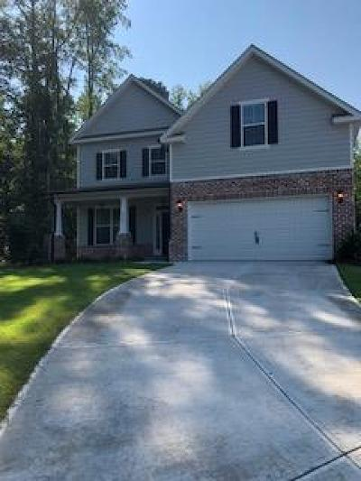 Evans Single Family Home For Sale: 2347 Malone Way