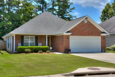 Grovetown Single Family Home For Sale: 2068 Sylvan Lake Drive