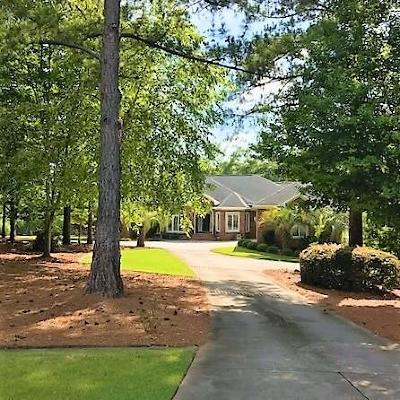 North Augusta Single Family Home For Sale: 40 Lanham Lane