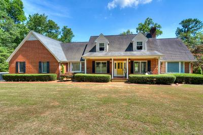 North Augusta Single Family Home For Sale: 8 Lake Selisa Drive