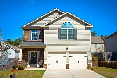 Grovetown Single Family Home For Sale: 352 Congling Circle