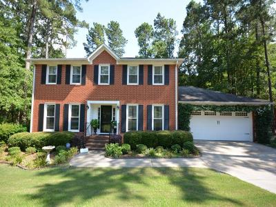 Single Family Home For Sale: 4570 Brandermill Court