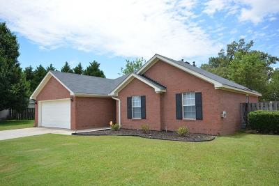 Grovetown Single Family Home For Sale: 216 Summerfield Circle