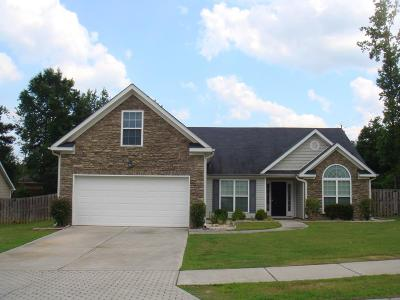 Grovetown Single Family Home For Sale: 4800 High Meadows Drive