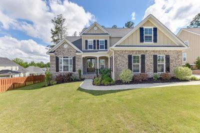 Evans Single Family Home For Sale: 808 Long Cane Ridge