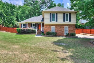 Evans Single Family Home For Sale: 814 Cape Cod Court