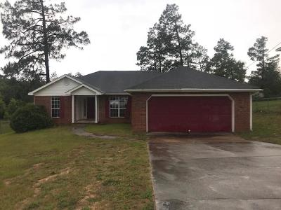 Richmond County Single Family Home For Sale: 4607 Shadow Moss Court