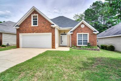 Evans Single Family Home For Sale: 725 Bradford Lane