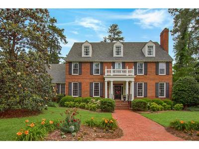 Augusta GA Single Family Home For Sale: $675,000