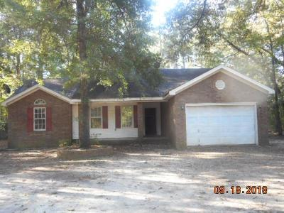 Hephzibah Single Family Home For Sale: 2522 Quail Run Drive