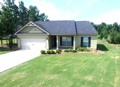 Edgefield County Single Family Home For Sale: 340 Foxchase Circle