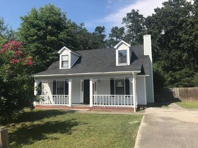 Columbia County, Richmond County Single Family Home For Sale: 1834 Barton