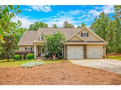 Dearing Single Family Home For Sale: 3410 Deerfield Road
