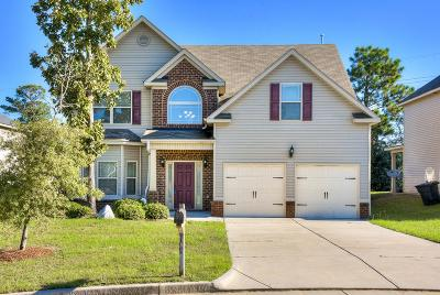 North Augusta Single Family Home For Sale: 184 Mossy Oak Circle