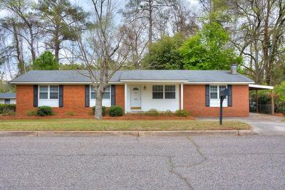 Augusta Single Family Home For Sale: 546 Martin Lane