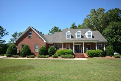Evans Single Family Home For Sale: 4407 Hardy McManus Road