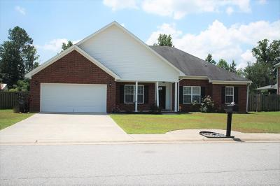 Grovetown Single Family Home For Sale: 5055 Reynolds Way