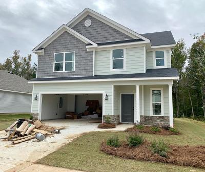 Grovetown Single Family Home For Sale: 3242 Alexandria Drive