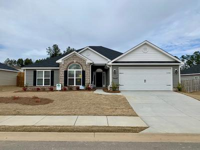 Grovetown Single Family Home For Sale: 4422 Raleigh Drive